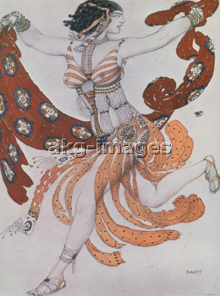 O.Wilde, Salome/ Costume design by Bakst