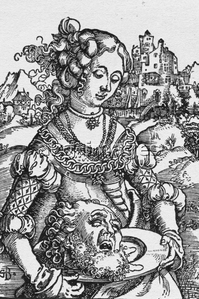 Baldung / Salome with Head of John t. B.