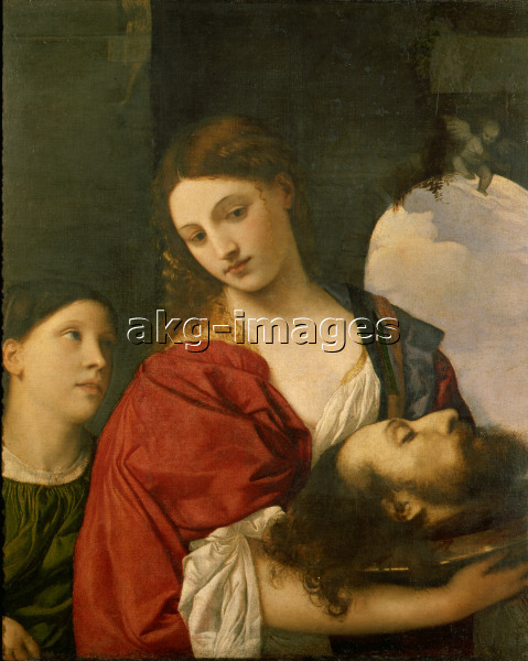 Titian / Salome with John Baptist's Head