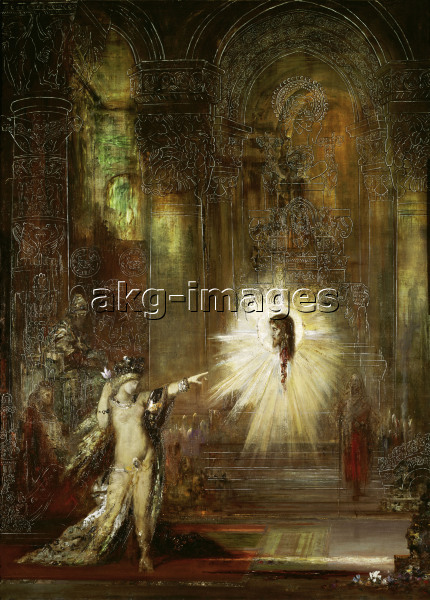 Moreau / The Apparition (Salome) / 1874