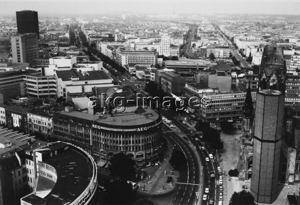 Berlin-Charlottenburg /Aerial View/1980s