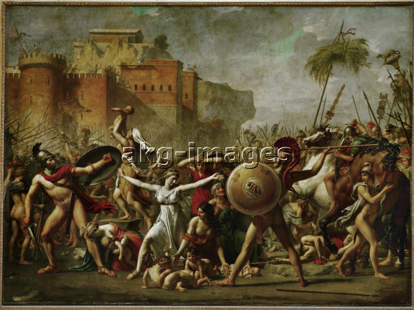 J.L.David, Die Sabinerinnen - J.L.David / The Sabine Women / 1799 - J.L.David / Les Sabines