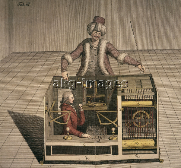 Mechanical Turk / Engraving