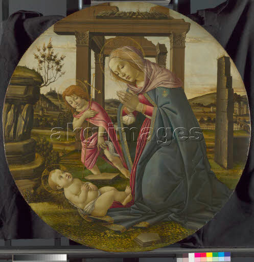 Workshop of Sandro Botticelli, The Virgin and Child with Saint John the Baptist, © The National Gallery, London / akg-images