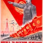 Stalin / Forwards... / Poster