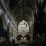Exeter, Kathedrale, Chor / Foto - Exeter, Cathedral, Choir / Photo - Exeter (Devon, Angleterre), cathédrale d'Exeter (commencée e
