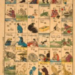 Japan. Bildtafel zum Sprachunterricht - Japan.Chart f.Language Teaching /Woodcut -