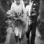 Brautpaar / Foto England um1930 - Bride and groom / Photo England c.1930 -