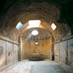 Pompeji, Forums-Thermen / Foto - Pompeii / Forum Baths / Photo -