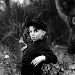 Kleiner Junge / Foto, 1948. - Young Boy / Photo / 1948. -