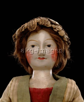 William & Mary-Puppe / um 1690/1700 - William & Mary doll / ca. 1690/1700 -