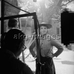 """Julie Andrews filming """"The Sound of Music"""" in Salzburg, 1964 © akg-images / Erich Lessing"""