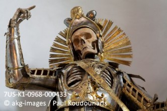 7US-K1-0968-000433  Wil, Switzerland, upper body of St. Pancratius.  Photo 2010. © akg-images / Paul Koudounaris
