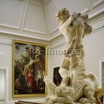 5FK-R1-M1-1992-1 During the rehanging of the Musée des Beaux-Arts, Rouen, 1992 © akg-images / CDA / Guillemot