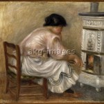 "2-M145-A1-1912-4 ""Woman Stoking a Stove"" by Auguste Renoir. © Sotheby's / akg-images"