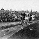 1500-m-Lauf mit Nurmi u.a./Foto 1926 - 1500m Run with Nurmi a.o./ Photo / 1926 -