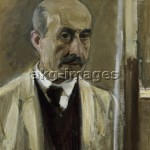 """""""Self-Portrait next to the Easel"""", 1914. Oil on canvas, 68 x 50 cm. akg-images / Andre Held"""