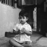 Young Indian boy drinking milk, 1950sPhoto: akg-images / Paul Almasy