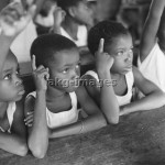 School lesson in Togo, 1957Photo: akg-images / Paul Almasy