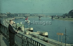 Dresden, Germany, 1940. A view across the Elbe river. Photo, akg-images