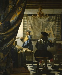 Jan Vermeer, The Art Of Painting © akg-images