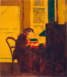 """Madame Vuillard at her desk"" © akg-images"