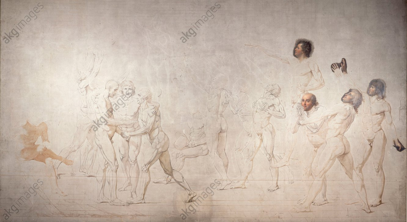 Jacques-Louis David, Tennis Court Oath © akg-images