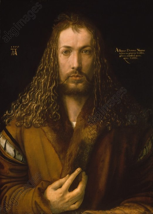 Dürer / Self-portrait / 1500
