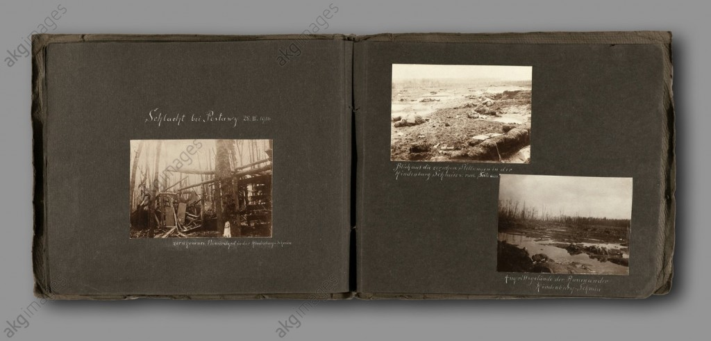 Photographs from the Battle at Postawy,1916, ©akg-images