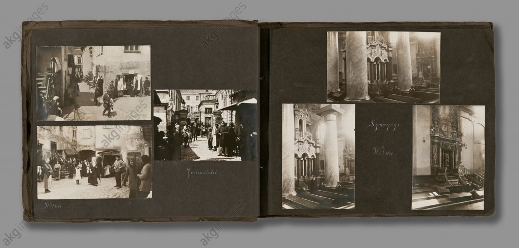 Photographs of the Jewish Quarter in Vilna (now Vilnius), 1916 © akg-images