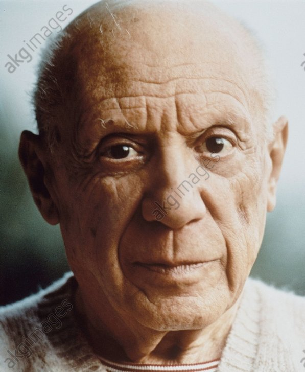 Pablo Picasso, 1968 © akg-images / Tony Vaccaro