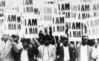 I am a man: Workers on strike in Memphis, 1968