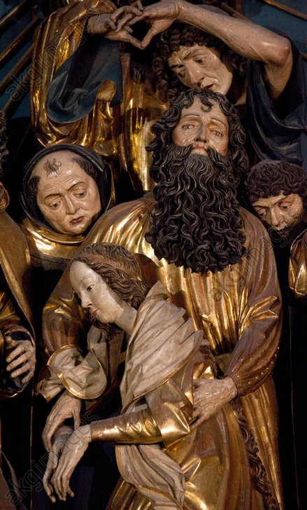 Detail from Veit Stoss's altarpiece in St. Mary's Basilica, Kraków © akg-images / Schütze / Rodemann